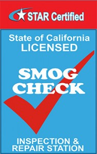 California Smog Check Inspection Station logo