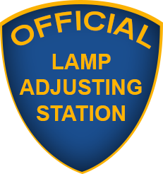 California Lamp Adjusting Station
