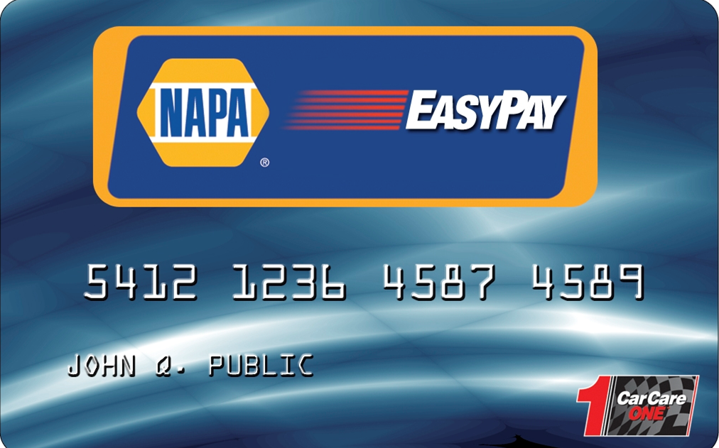 napa easypay credit card performance automotive. Black Bedroom Furniture Sets. Home Design Ideas