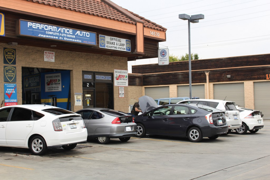 Pictures Of The Performance Automotive Repair Shop