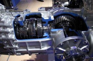 Cutout of an Automatic Transmission