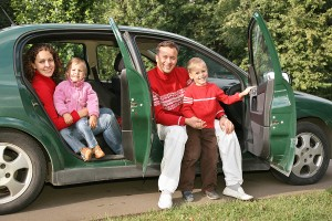 Family Car Happy with Auto Repair