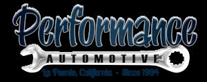 Performance Automotive Logo, La Puente, CA